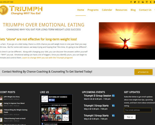 Triumph Website